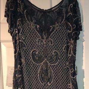 Pissarro nights beaded gown
